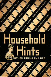 Household Hints by Anonymous