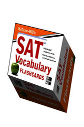 McGraw-Hill's SAT Vocabulary Flashcards by Mark Anestis