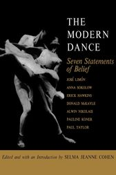 The Modern Dance by Selma Jeanne Cohen