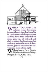 On a Certain Blindness in Human Beings by William James