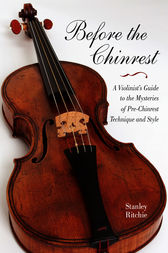 Before the Chinrest by Stanley Ritchie