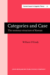 Categories and Case by William O'Grady