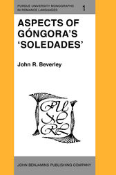 Aspects of Góngora's 'Soledades' by John R. Beverley