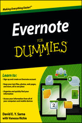 Evernote For Dummies by David E. Y. Sarna