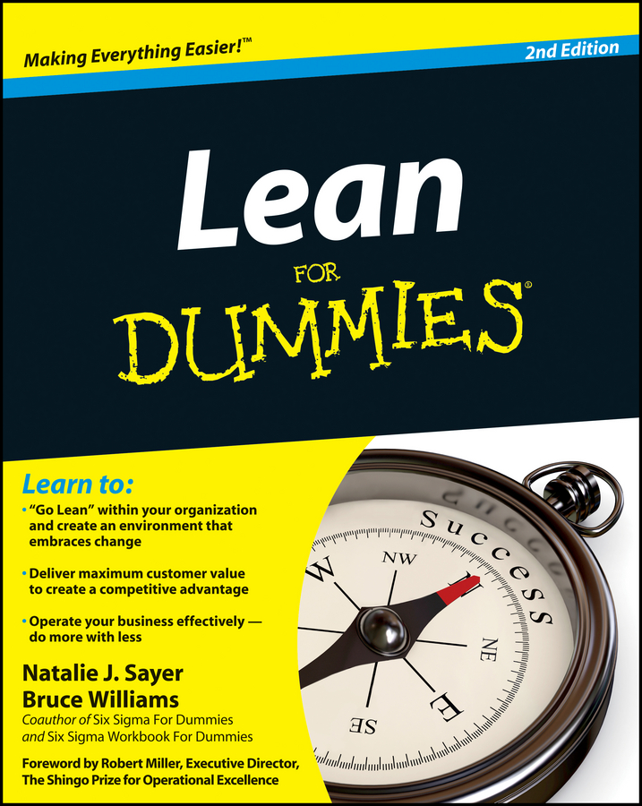 Download Ebook Lean For Dummies (2nd ed.) by Natalie J. Sayer Pdf