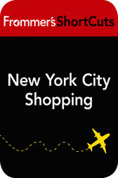 New York City Shopping by Frommer's ShortCuts