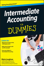 Intermediate Accounting For Dummies by Maire Loughran