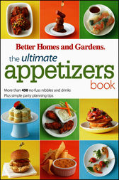 The Ultimate Appetizers Book by Better Homes & Gardens