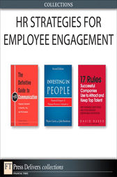 HR Strategies for Employee Engagement (Collection) by Alison Davis