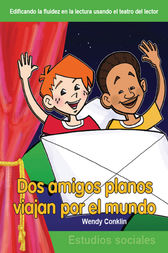Dos amigos planos viajan por el mundo (Two Flat Friends Travel the World) by Wendy Conklin