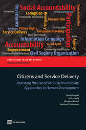 Citizens and Service Delivery by Dena Ringold