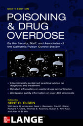 Poisoning and Drug Overdose,  Sixth Edition