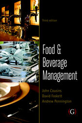 Food and Beverage Management by John Cousins