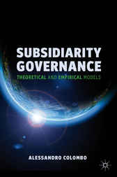 Subsidiarity Governance by Alessandro Colombo