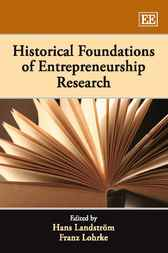 Historical Foundations of Entrepreneurship Research by Hans Landstrom