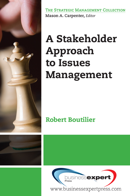 Download Ebook A Stakeholder Approach to Issues Management by Robert Boutilier Pdf