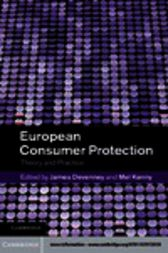 European Consumer Protection by James Devenney