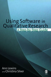 Using Software in Qualitative Research by Ann Lewins