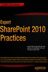 Expert SharePoint 2010 Practices by Winsmarts LLC