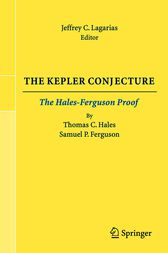 The Kepler Conjecture by Jeffrey C. Lagarias