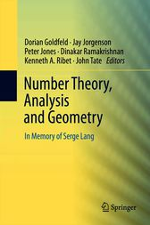 Number Theory, Analysis and Geometry by Dorian Goldfeld