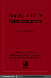 Doping in III-V Semiconductors by E. F. Schubert