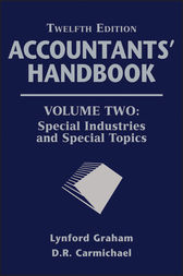 Accountants' Handbook, Special Industries and Special Topics by D. R. Carmichael