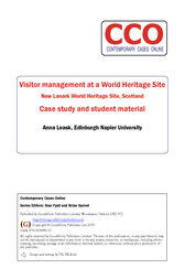 World Heritage Site Designation: New Lanark World Heritage Site, Scotland by Anna Leask