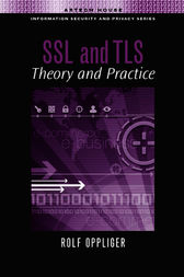 SSL and TLS by Rolf Oppliger