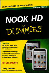 NOOK HD For Dummies, Portable Edition by Corey Sandler