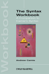 The Syntax Workbook by Andrew Carnie