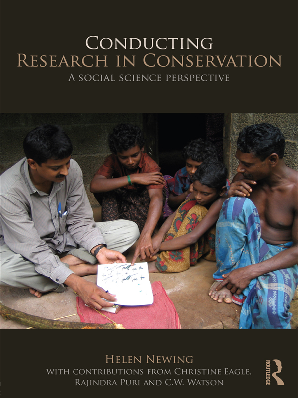 Download Ebook Conducting Research in Conservation by Helen Newing Pdf