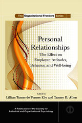 Personal Relationships by Lillian Turner de Tormes Eby
