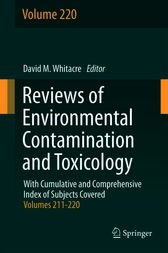 Reviews of Environmental Contamination and Toxicology by David M. Whitacre