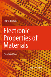 Electronic Properties of Materials by Rolf E. Hummel
