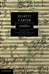 Elliott Carter Studies by Marguerite Boland