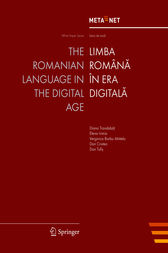 The Romanian Language in the Digital Age by Georg Rehm