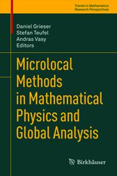 Microlocal Methods in Mathematical Physics and Global Analysis by Daniel Grieser