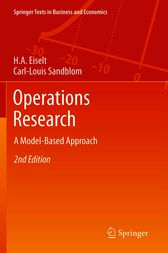 Operations Research by H. A. Eiselt