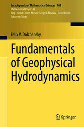 Fundamentals of Geophysical Hydrodynamics by Felix V. Dolzhansky