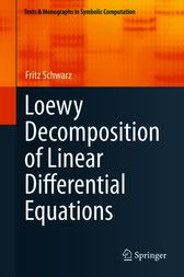 Loewy Decomposition of Linear Differential Equations by Fritz Schwarz