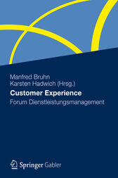 Customer Experience by Manfred Bruhn