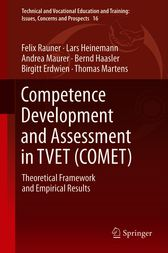 Competence Development and Assessment in TVET (COMET) by Felix Rauner