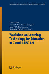 Workshop on Learning Technology for Education in Cloud (LTEC'12) by Lorna Uden