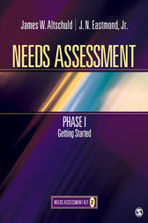 Needs Assessment Phase I by James W Altschuld