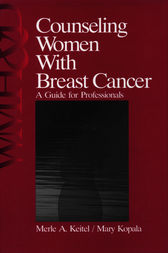 Counseling Women with Breast Cancer by Merle Keitel