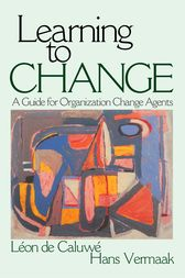 Learning to Change by Léon de Caluwe