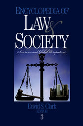 Encyclopedia of Law and Society by David S. Clark