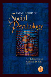 Encyclopedia of Social Psychology by Roy Baumeister
