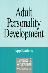 Adult Personality Development by Lawrence S. Wrightsman
